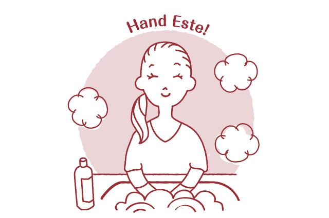 食器洗いをしながら、ハンドエステの体験をしてみませんか?