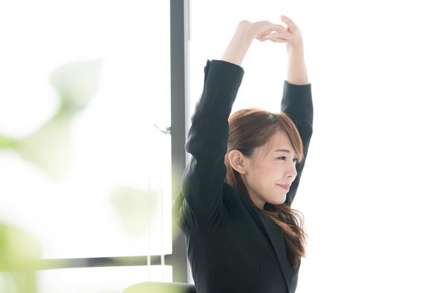 筋肉をつけることで血行促進をサポートします。