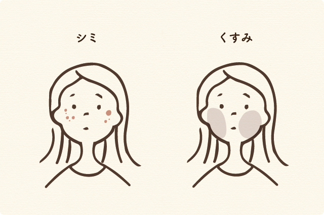 2 シミ・くすみ