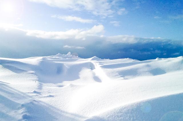 雪焼けに要注意!