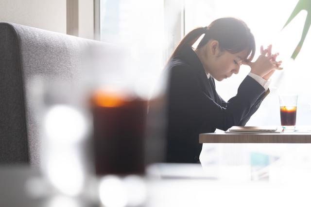 気づかないうちに溜まっているストレスに要注意。