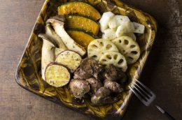 食べるスキンケアvol.17血行促進レシピ レバーと旬野菜のハーブバターグリル