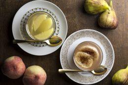 食べるスキンケア。夏の紫外線ダメージ回復レシピ イチジクゼリー。